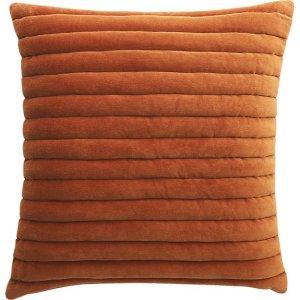 channeled-copper-velvet-pillow