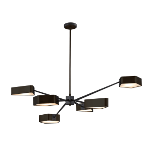Modern Spider Gem Chandelier - Large