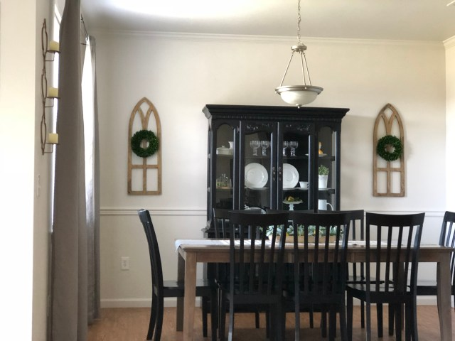 Farmhouse Dining Room Makeover - One Home to Another