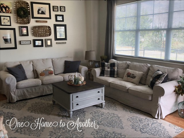 fall home tour, fall, fall decor, living room