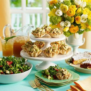Quiche, Sweets, Salads