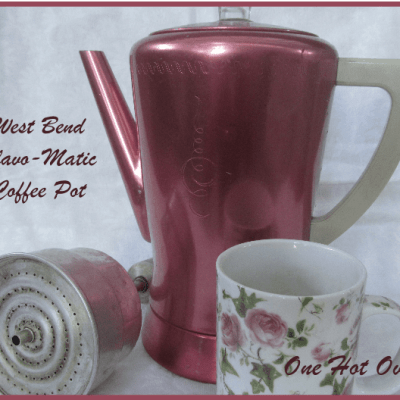 Vintage West Bend Flavo-Matic Percolator in Pink