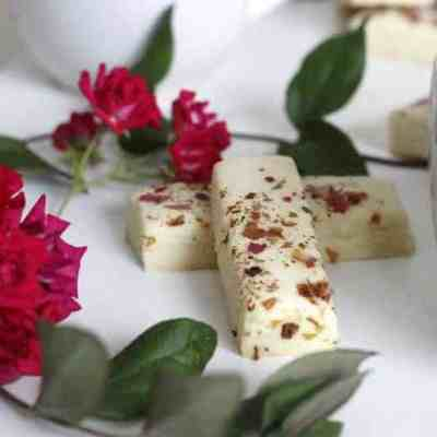 Tender Rose Petal Shortbread Simple and Sophisticated