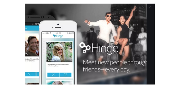 Hinge Sign up