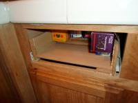 Fixing a Kitchen Cabinet Hinge - One House One Couple