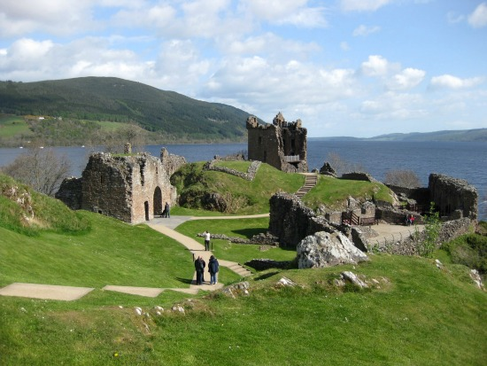 Urquhart Castle in Scotland