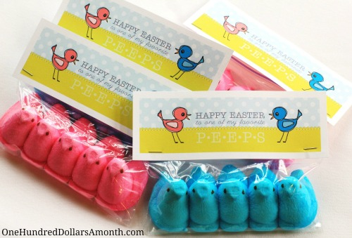 easy easter crafts for kids peeps