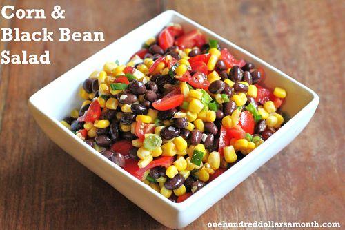 recipe corn and black bean salad
