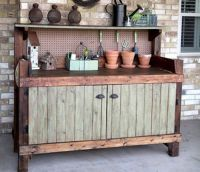 Potting Bench & Work Space Inspiration