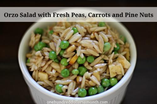 easy summer recipes orzo salad