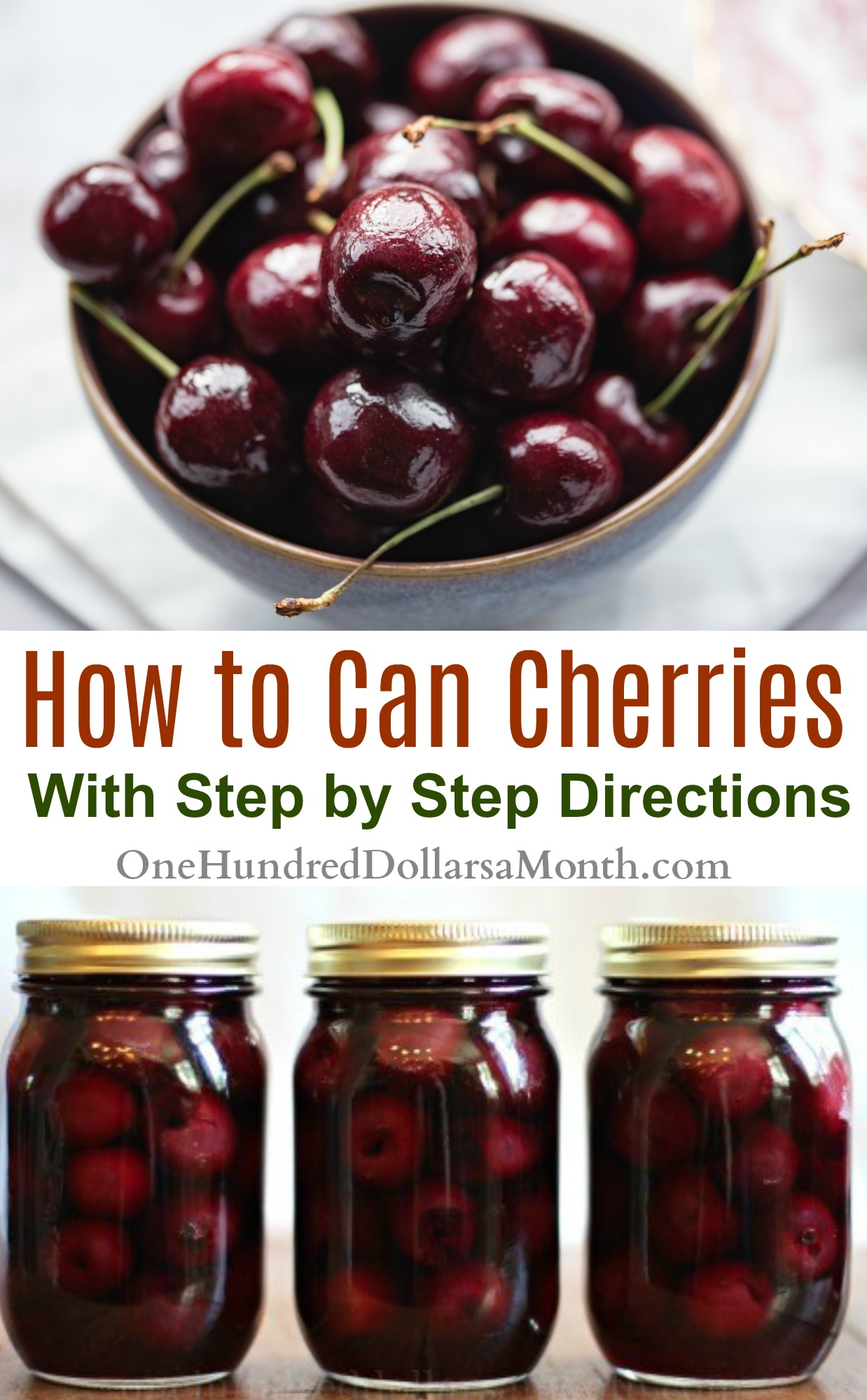 How to make canned cherries 50