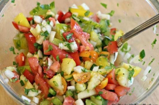 easy salsa recipe heirloom tomato salsa