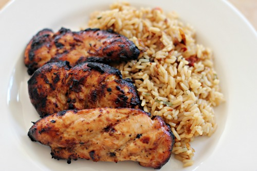 Easy Grilled Chicken Recipes - Honey Barbecue Chicken ...