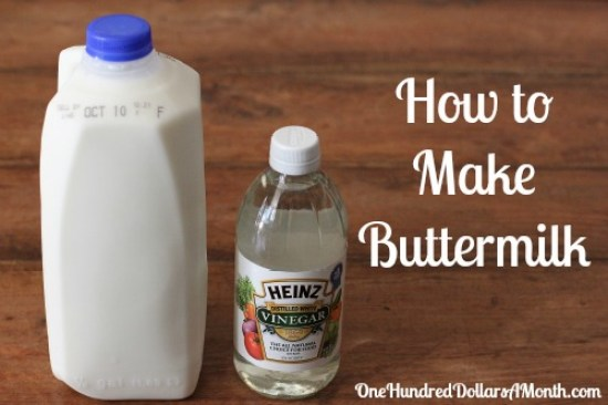 how to make buttermilk recipe