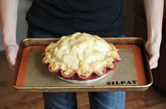Recipe - The Long Winter Green Pumpkin Apple Pie - One