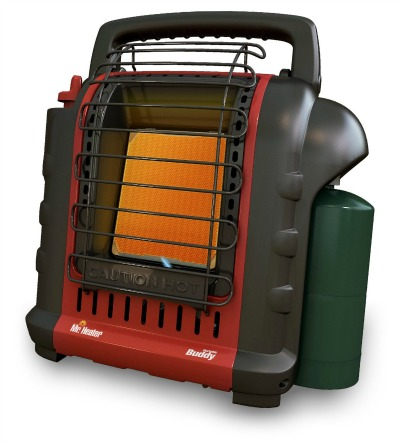 Mr. Heater Buddy 4,000-9,000-BTU Indoor-Safe Portable Radiant Heater