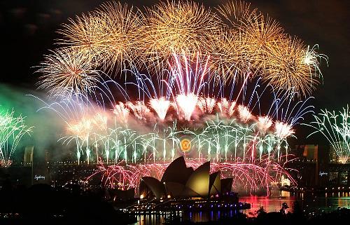 Sydney Australia New Year's Eve
