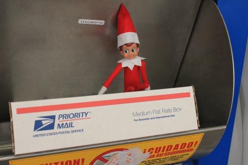 elf on the shelf post office