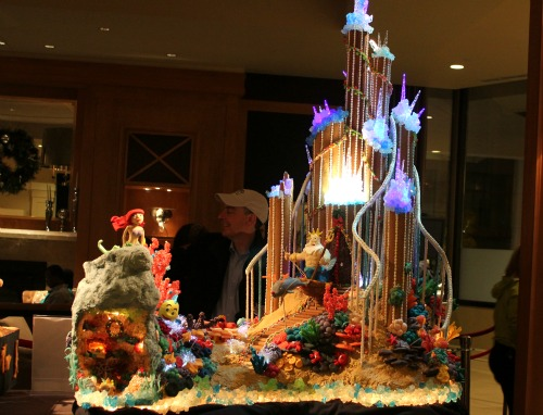 Seattle Sheraton Gingerbread Houses – The Little Mermaid One