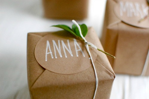 Clever Christmas Gift Wrapping Ideas Dish Towels Old