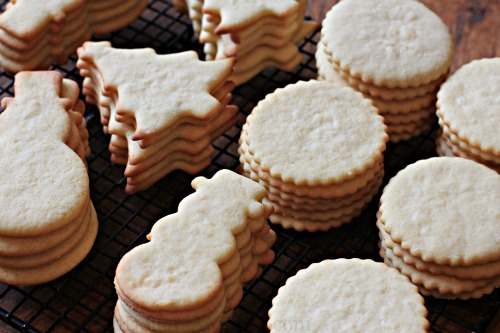 25 Days Of Christmas Cookies The Best Sugar Cookie Recipe One