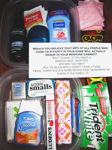 what's in your bathroom drawer medicine cabinet