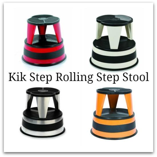 Kik Step Rolling Step Stool