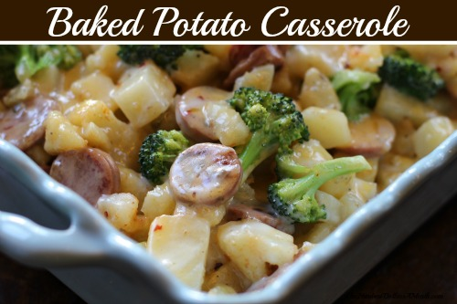 baked potato cassarole