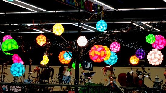 bright ceiling ball lights