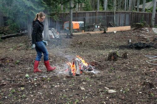 fire red boots mavis