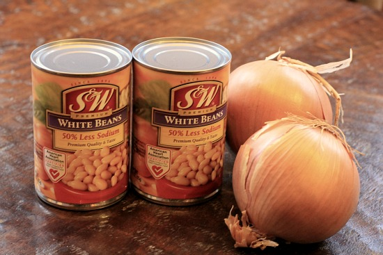 s and w white beans