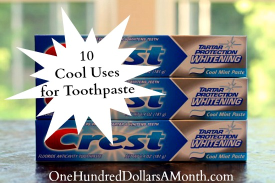 10 Cool Uses for Toothpaste