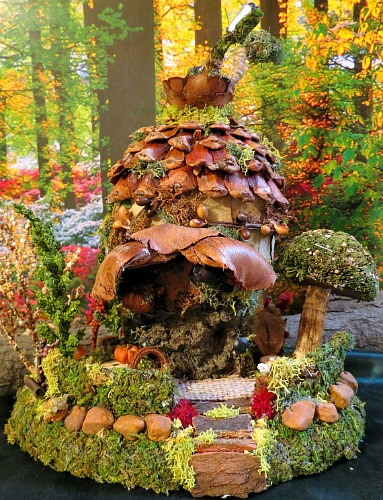 Fairy Houses And Miniature Gardens One Hundred Dollars A Month