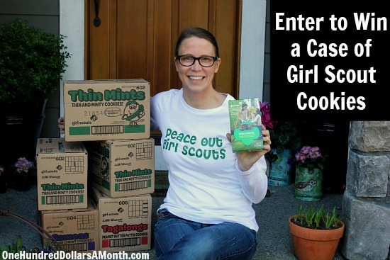 girl scout cookie giveaway