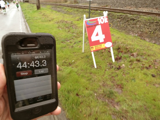 mile 4 race marker