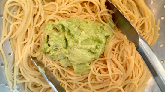 recipe creamy avocado pasta