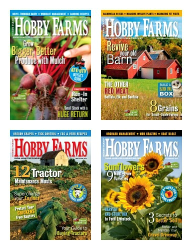 hobby farms magazine cover