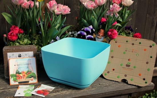 Attractive Simple Garden Container Garden Kits