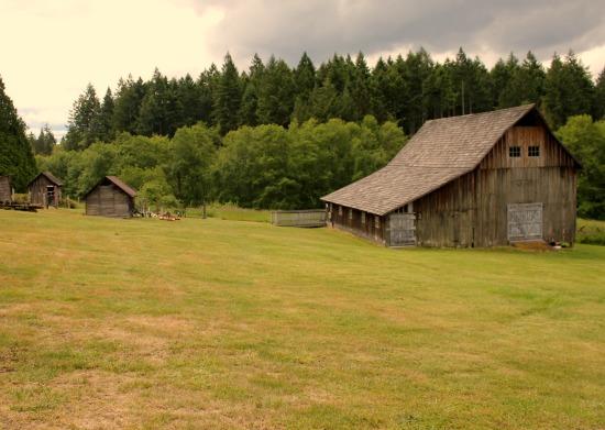 old barn building