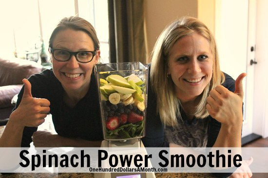 spinach power smoothie recipe