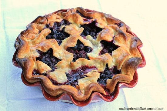 triple-berry-pie fourth of july recipes