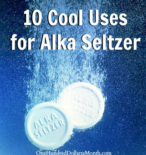 10 Cool Uses for Alka Seltzer