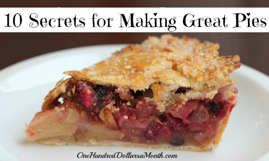 10 Secrets for Making Great Pies
