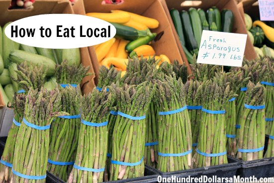 how to eat local