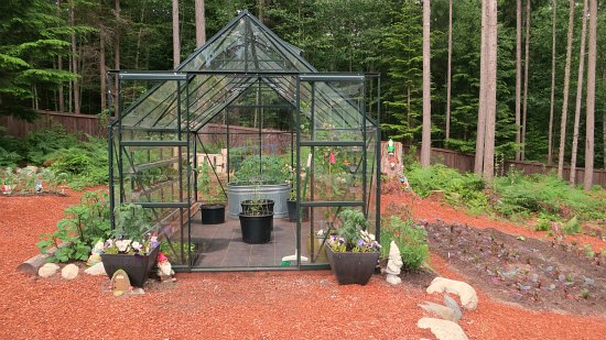 magnum glass greenhouse