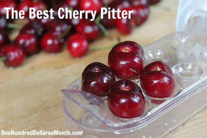the best cherry pitter