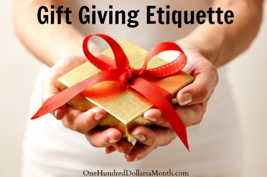 Donations as christmas gifts etiquette school