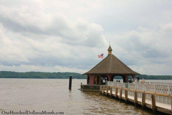Potomac River George Washington's Mount Vernon