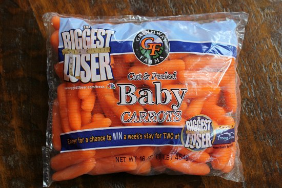 bag of baby carrots
