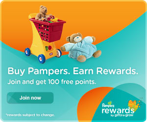 free pampers rewards